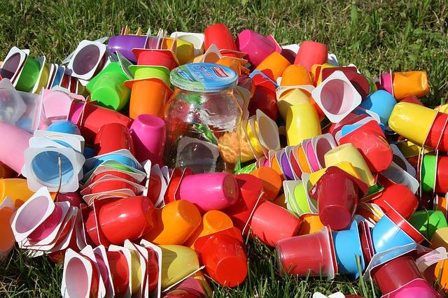 Plast avfall
